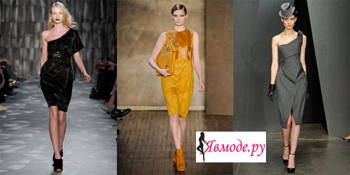 Модные платья 2013 – долой мини! В моде длинные платья.