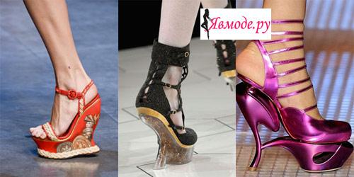 Модная обувь 2013 – высокий или низкий каблук?