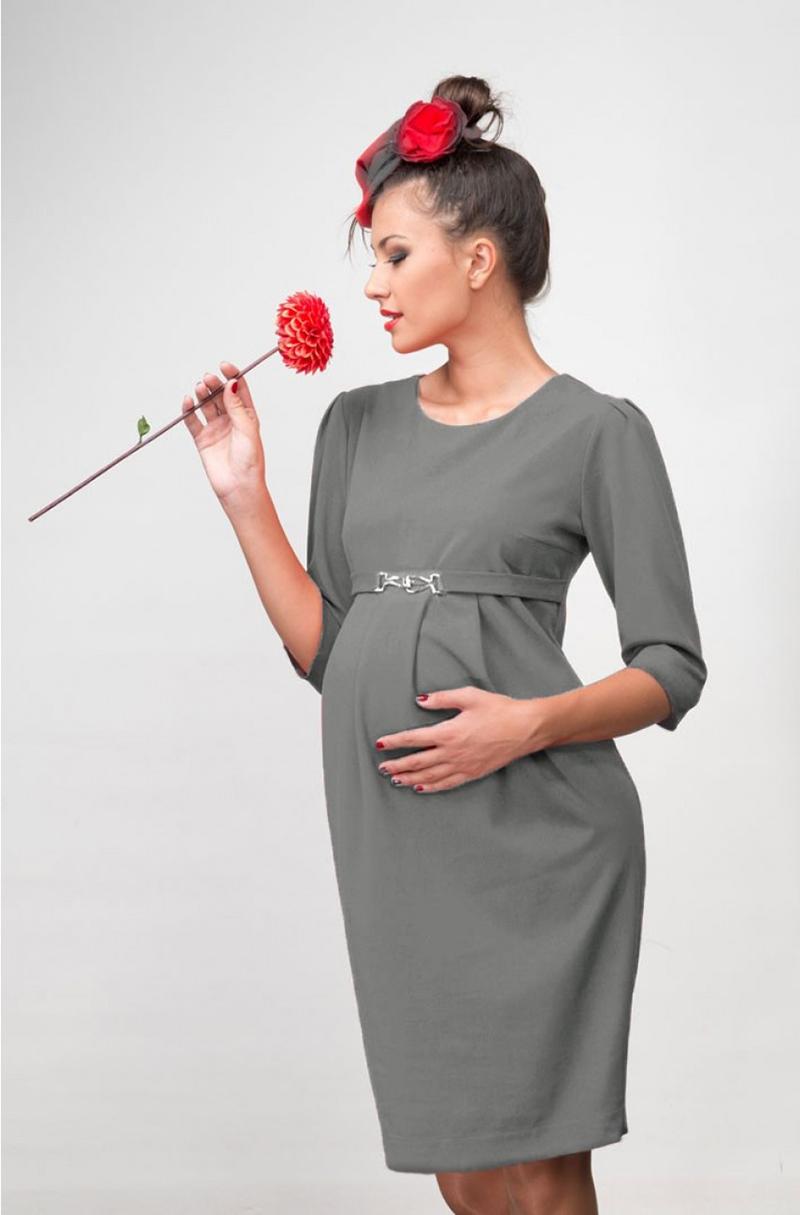 Офисное платье для беременных женщин – фото новинки и тренды сезона
