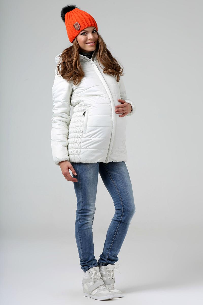 Стильная куртка и джинсы для беременных
