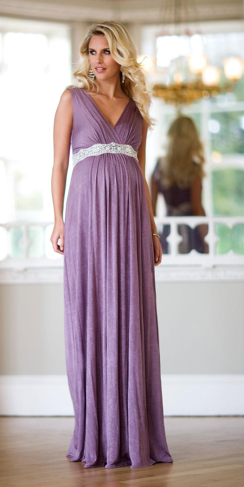 Вечернее платье для беременных женщин – фото новинки и тренды сезона