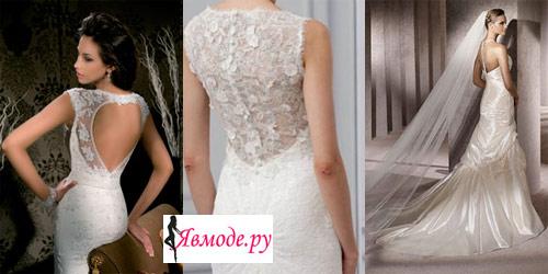 Wedding Saloon :: свадебное платье с кружевной спиной, фото