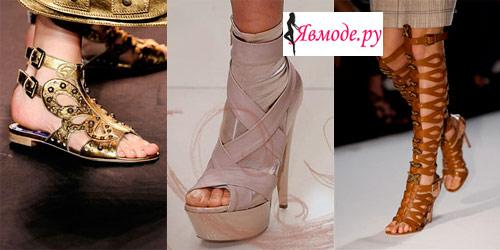 Модная обувь 2013 – тенденции и фото
