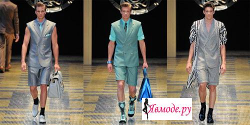 Мужская мода весна-лето 2013 - пиджак и шорты