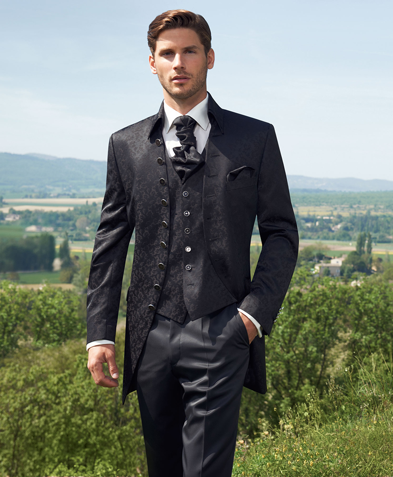 Фото: мужской галстук Аскот