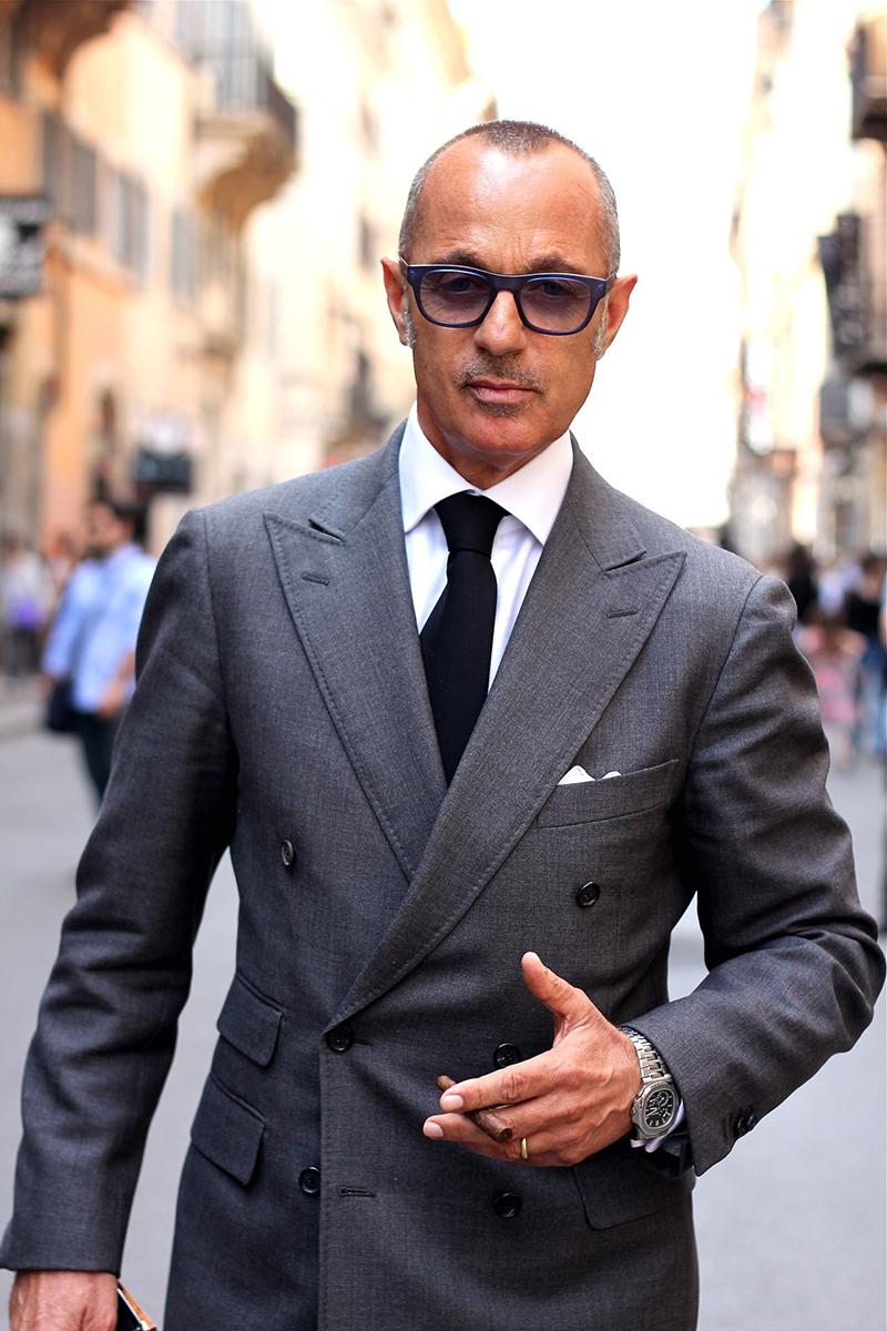 Фото новинка: черный мужской галстук