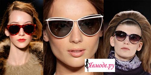 Модные солнцезащитные очки 2013 - смотри фото на Явмоде.ру