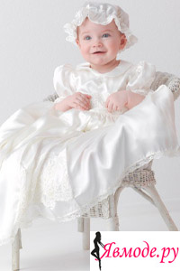 Крестильное платье для девочки - как выбрать?
