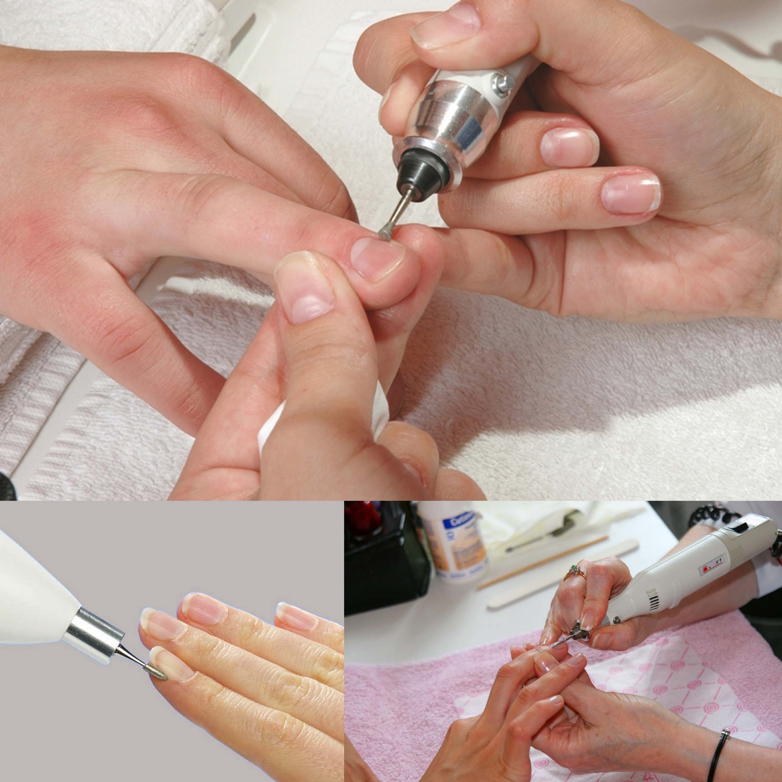 Как обрабатывать ногти машинкой для маникюра 27