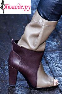 Модная обувь осень зима 2013 2014 - тренды и фото на Явмоде.ру