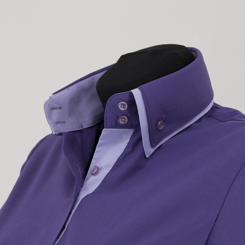 Фото новинка: мужская рубашка с двойным воротником
