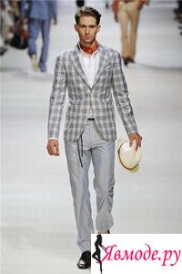 Шелк – главная фактура в мужской моде 2013