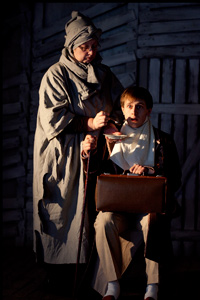 Впервые в России на сцене Театра С.А.Д. - спектакль Балаган