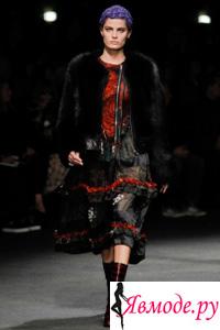 Юбки с воланами 2013-2014 - Givenchy