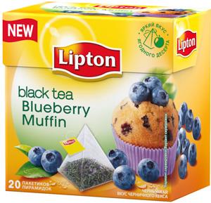 Новый Lipton в пирамидках со вкусами ягодных десертов