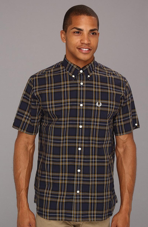 Фото новинки: мужская рубашка в клетку Tartan