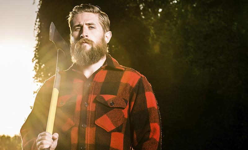 Фото новинки: мужская рубашка в клетку Lumberjack plaid