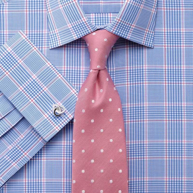 Фото новинка: мужская рубашка в клетку Prince of Wales Check