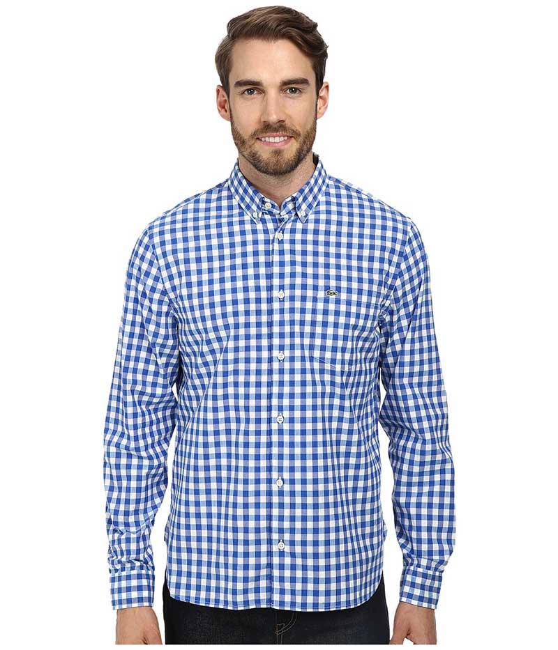 Фото мужской рубашки в клетку