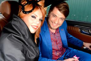 Анастасия Стоцкая и Олег Тарнопольский fashion-эксперт, Imagemaker, телеведущий