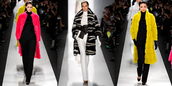 Модные шубы Chado Ralph Rucci осень-зима 2013-2014
