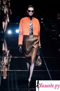 Коллекция Gucci - осень-зима 2013-2014 - Калорблокинг в одежде