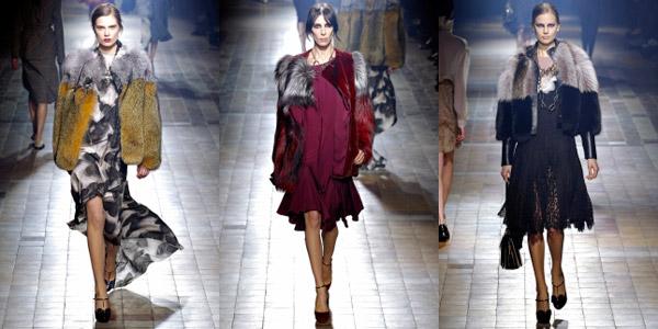 Модная коллекция Lanvin осень-зима 2013-2014