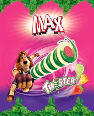 Новый MAX Twister - MAXимальный вихрь свежести
