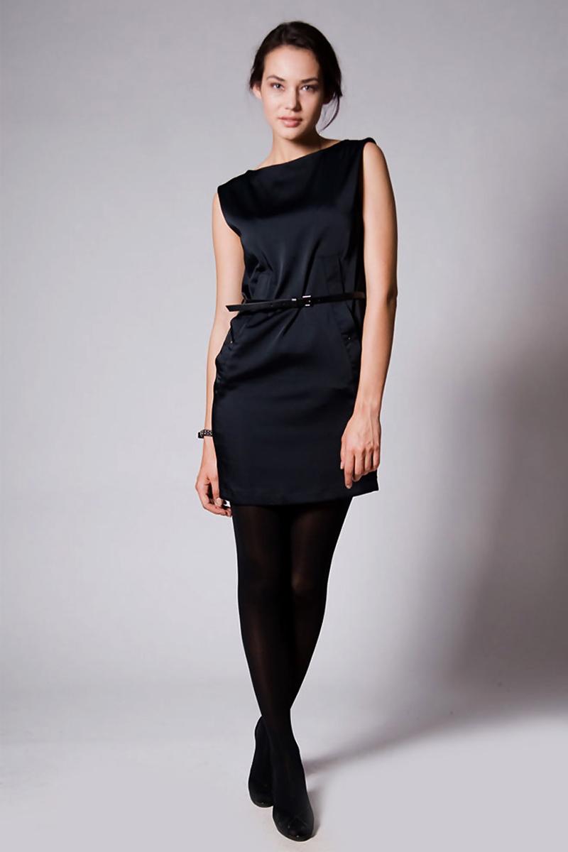 Фото черного платья футляр