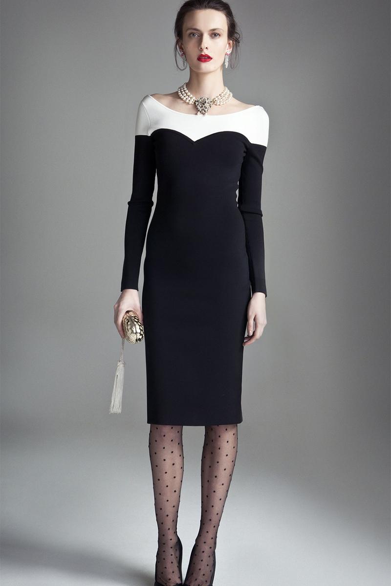Роскошное платье футляр – фото новинка сезона