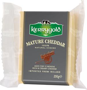 •Выдержанный белый чеддер Kerrygold