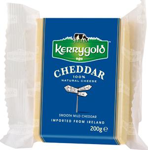 •Ирландский белый чеддер Kerrygold