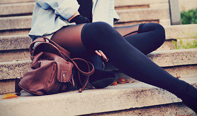 Колготки с эффектом чулок - модный тренд