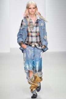 Модные джинсы с блестками Ashish 2014
