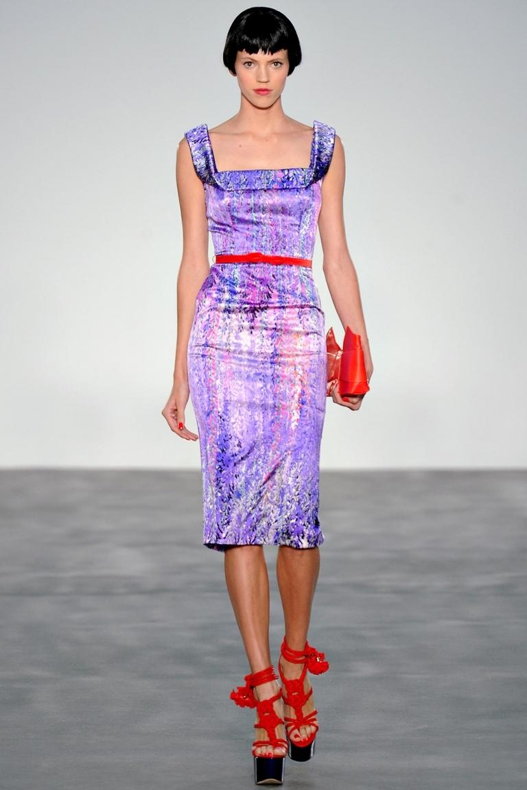 Модное платье — L'Wren Scott весна-лето