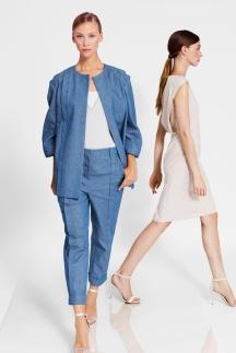 Модные джинсы 2014 – укороченные джинсы. TSE весна лето 2014.