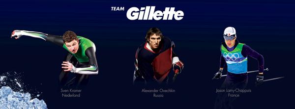 Команда Gillette проявит стальной характер на Олимпийских зимних играх 2014 в Сочи