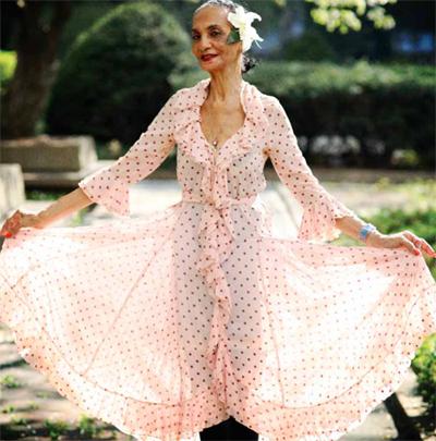Жаклин Мэрдок в 83 года стала моделью