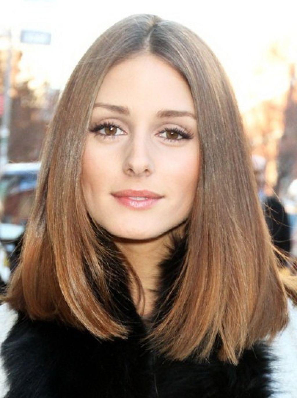 Прически на средние волосы - стильное каре или боб - фото новинки сезона