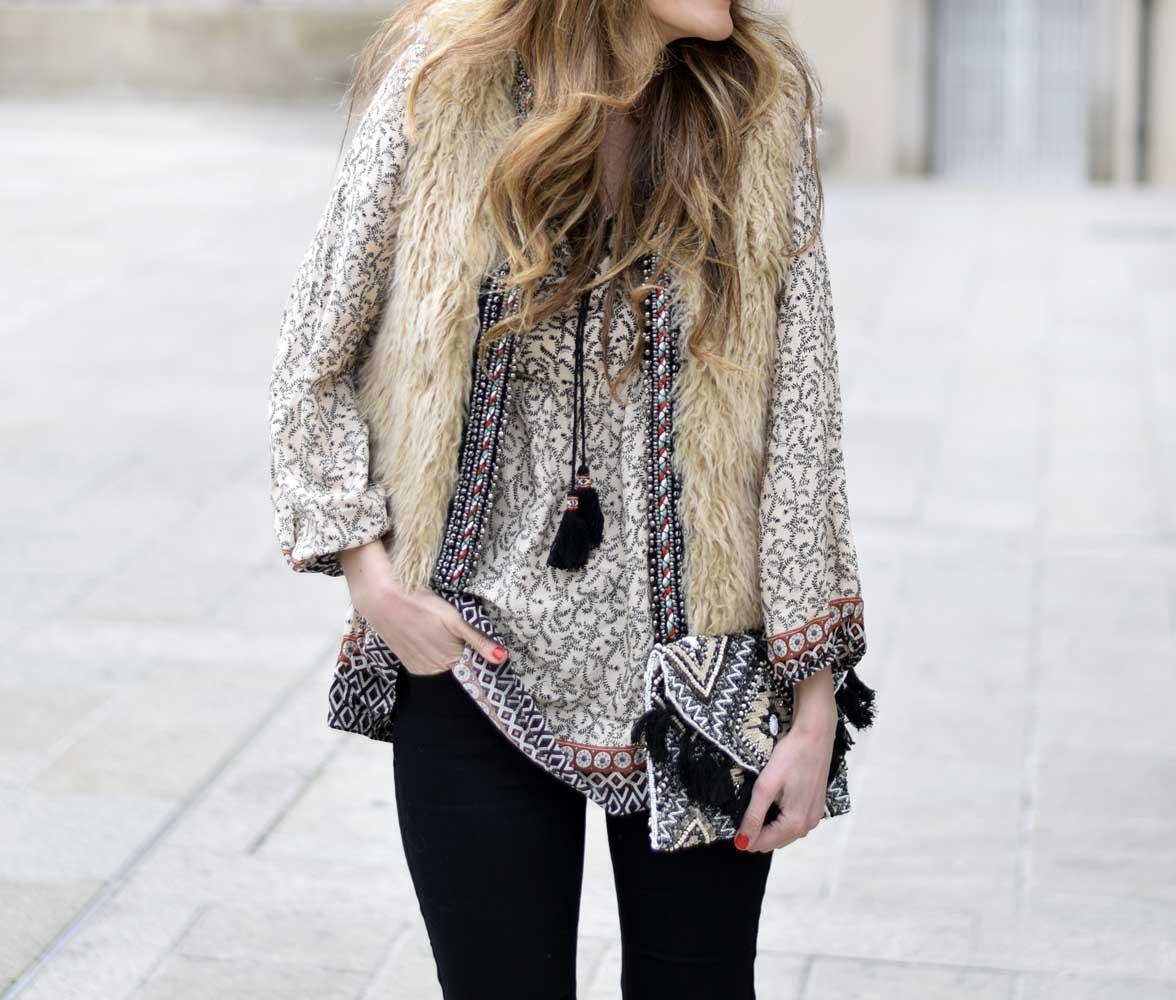 Одежда в модном стиле бохо - фото новинки сезона