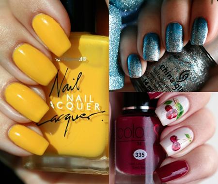 Модный маникюр 2014 – яркие цвета
