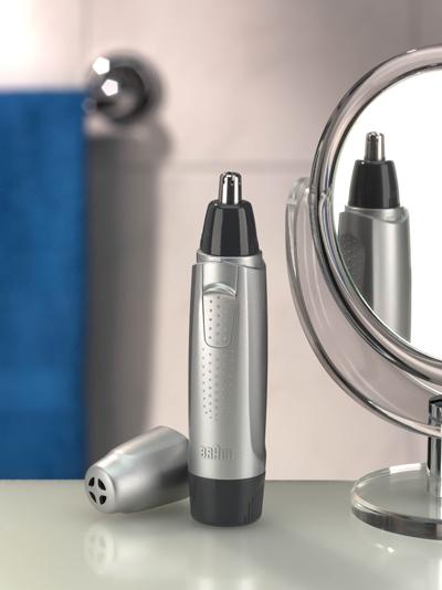 Триммер Braun Exact Series для носа и ушей