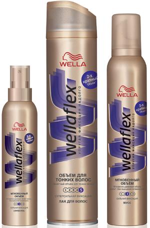 Wellaflex «2-х кратный объем»
