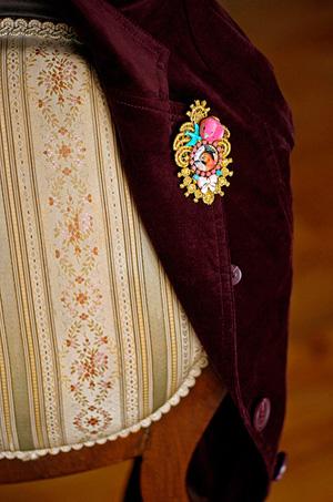 Модные украшения 2014 - броши