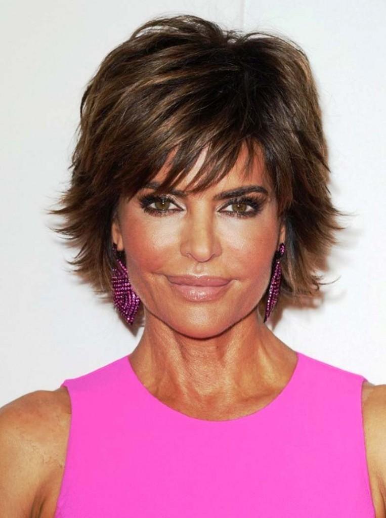 Фото причесок на короткие волосы для женщин 40