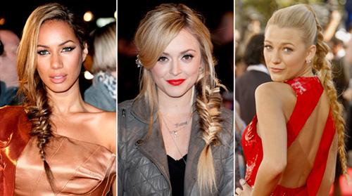 Модная прическа 2014 - коса