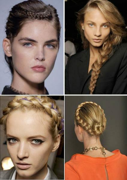 Модная прическа 2014 коса