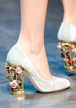 Красивая модная обувь 2014