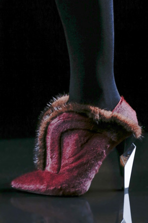 Модная обувь 2014 с мехом