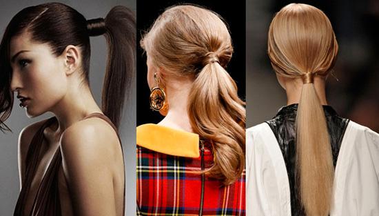 прически на длинные волосы мода 2014 фото